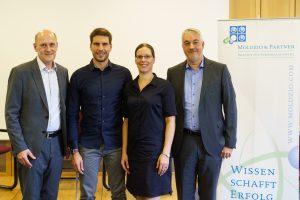 Foto (v. l.): Matthias Mickeleit, Arnd Peiffer, Dr. Henrike Peiffer, Holger Verwold