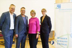 Foto (v. l.): Dr. Thomas Moldzio, Matthias Opdenhövel, Sabine Kumlehn, Dr. Martina Böge